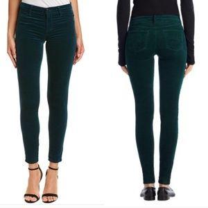 J Brand | rail skinny velvet jeans in libertine